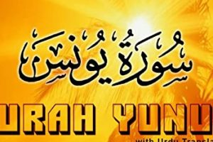 surah-yunus english translation